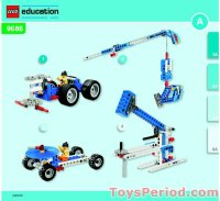 LEGO 9686-1 Simple and Motorized Mechanisms Base Set Set ...