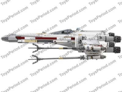 LEGO 10240 Red Five X-wing Starfighter Set Parts Inventory