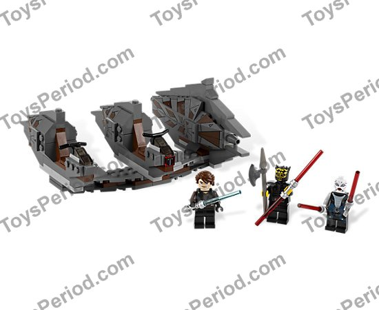 LEGO 7957 Sith Nightspeeder Set Parts Inventory and
