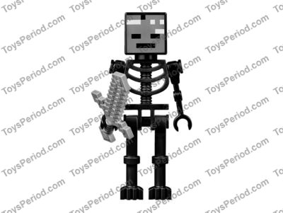 LEGO 21126 The Wither Set Parts Inventory and Instructions