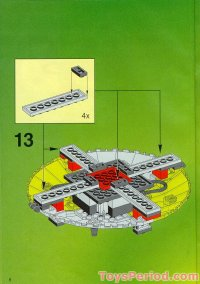 LEGO 6999 Cyber Saucer Set Parts Inventory and ...