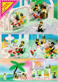 LEGO 6416 Poolside Paradise Set Parts Inventory and ...