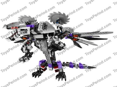LEGO 70725 Nindroid MechDragon Set Parts Inventory and