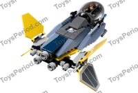 LEGO 7256 Jedi Starfighter and Vulture Droid Set Parts ...