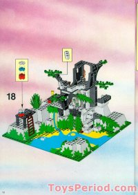LEGO 6278 Enchanted Island Set Parts Inventory and ...
