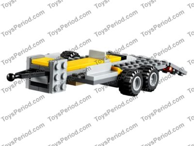 LEGO 60152 Sweeper & Excavator Set Parts Inventory and