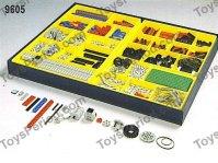 LEGO 9605 4.5v Technic Resource Set Set Parts Inventory ...
