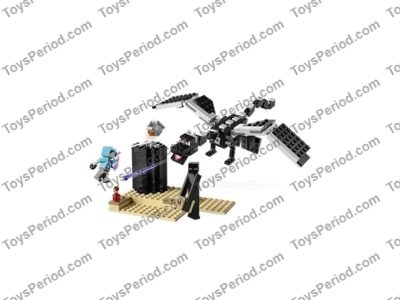 LEGO 21151 The End Battle Set Parts Inventory and