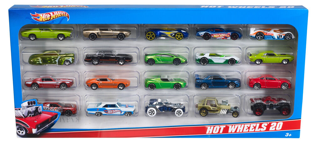 Hot Wheels 20 Gift Pack Styles May Vary Toys R Us Canada