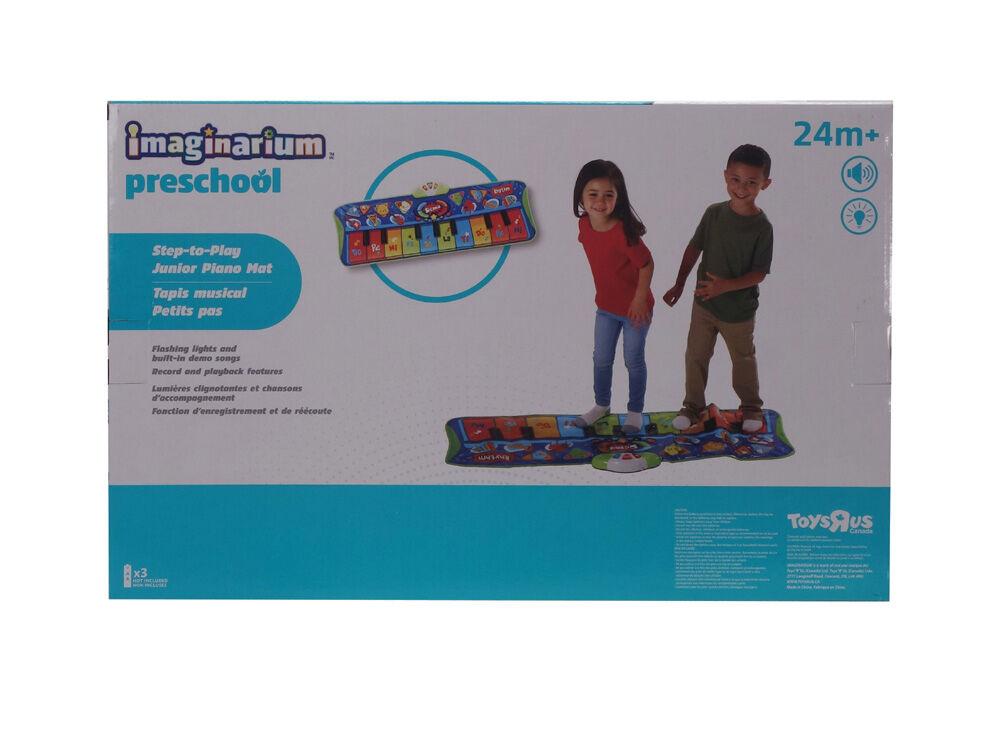 imaginarium preschool tapis musical petits pas