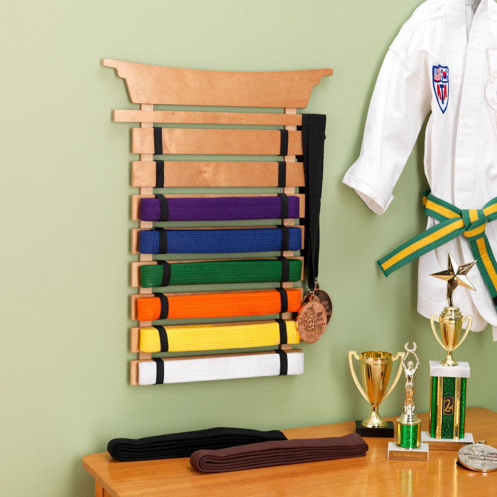 martial arts belt holder
