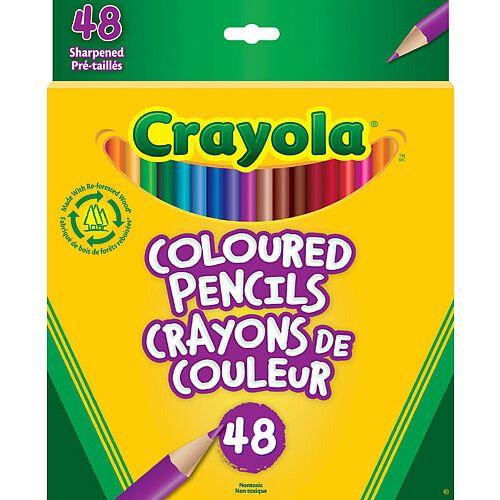 crayola color pencils # 54