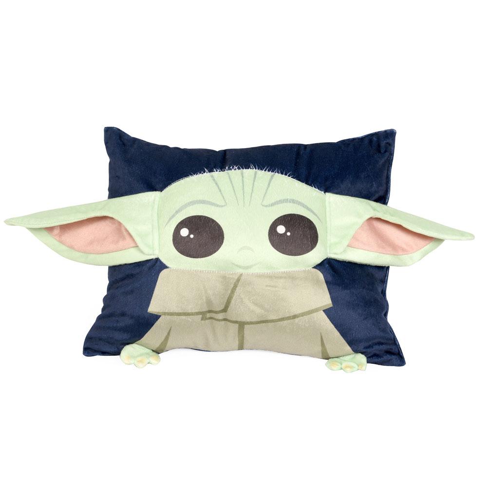 buy nemcor marvel mandalorian baby yoda character pillow for cad 19 99 toys r us canada