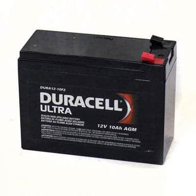 Duracell 12 Volt Battery (10AH)