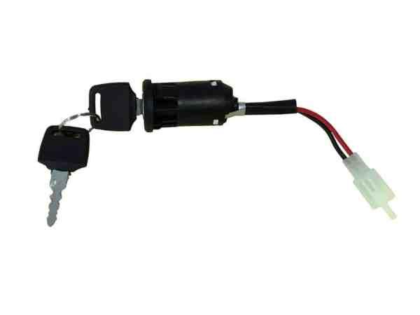 MotoTec 2000w Scooter - Key Lock Ignition