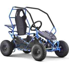 MotoTec Maverick Go Kart 36v 1000w Blue