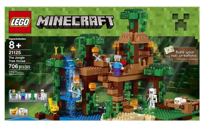 The Jungle Tree House By Lego Minecraft Toytico