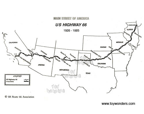 Route 66 Car Coloring Pages Coloring Pages