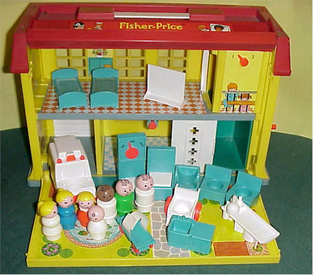 El – Juguetes Pequeño Hospital Mi Testa Ii; De Infancia Mamma 54RjAL