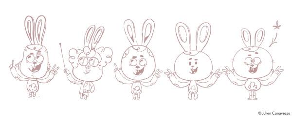 dessin de mascottes