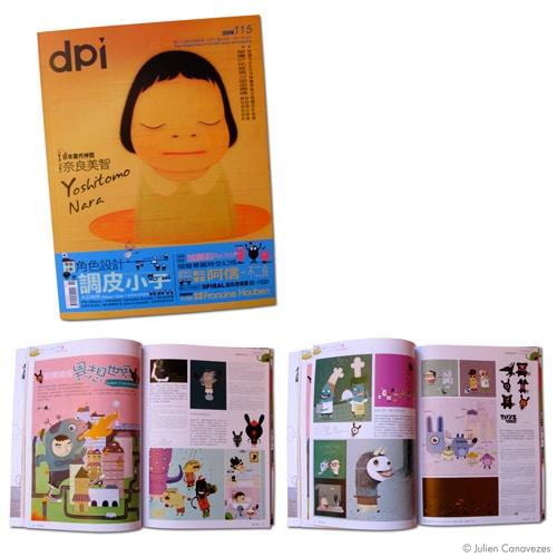 magazine d'illustrations
