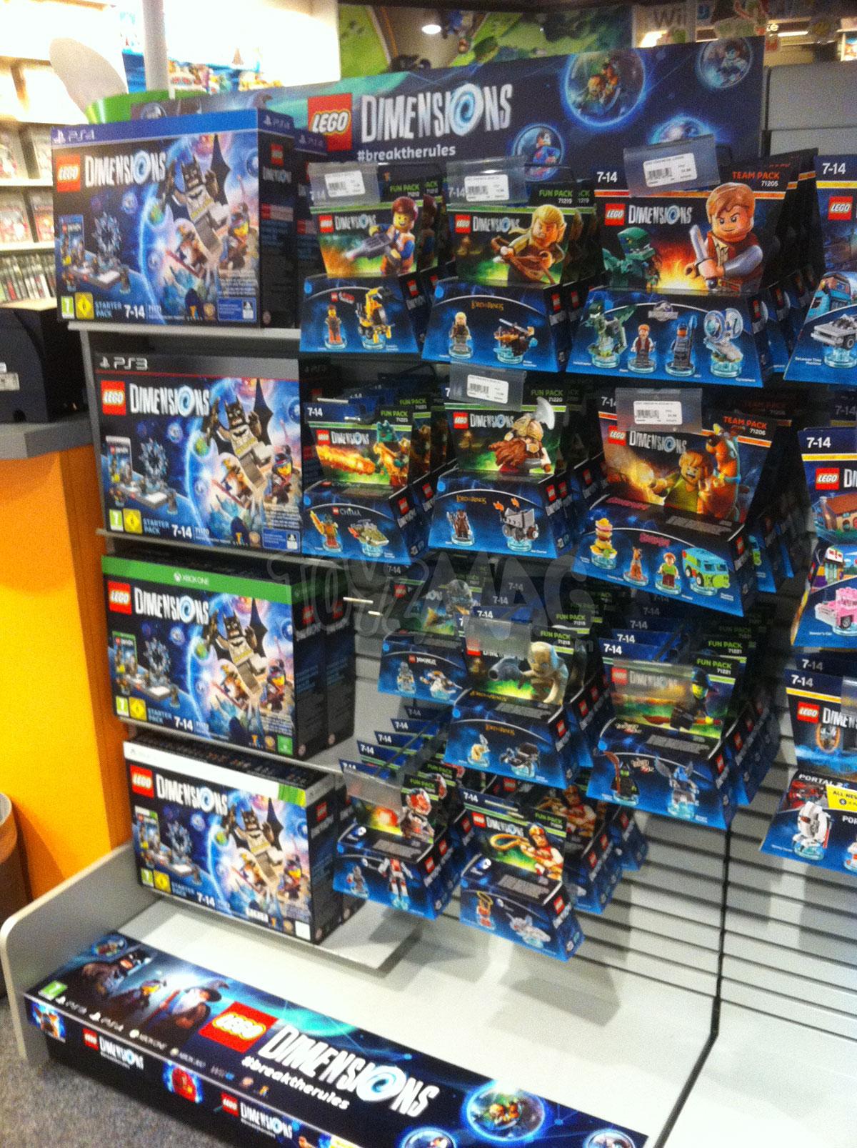 Dispo En France Lego Dimension Tortues