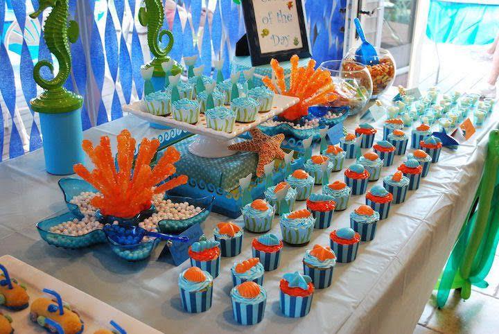 I compleanni per bambini in estate organizzali a tema mare