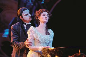 couple performing in Love Never Dies