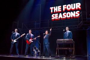 Jersey Boys cast on stage