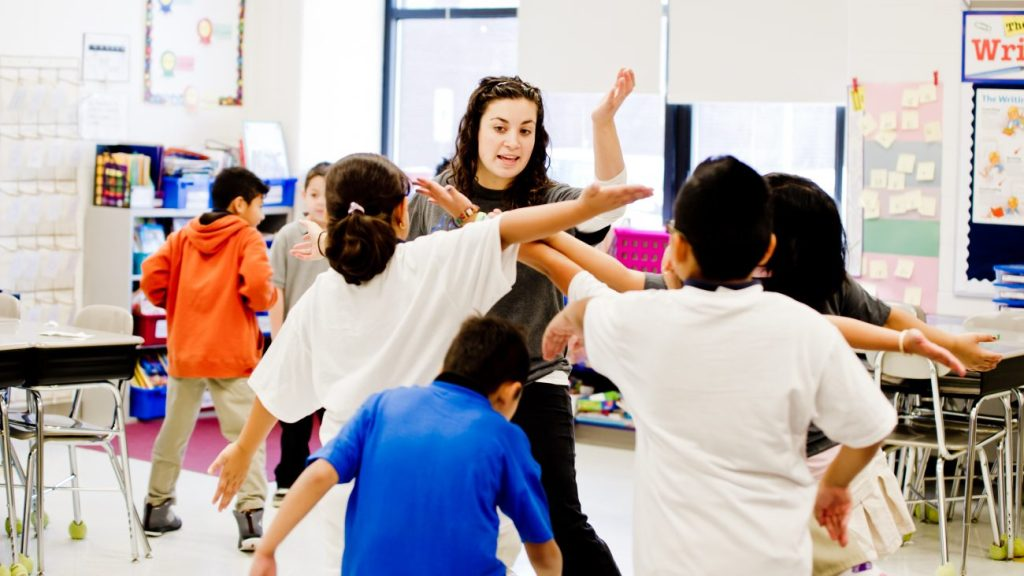 Creative Movement with students