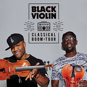 American hip hop duo and violinists Kev Marcus and Wil B