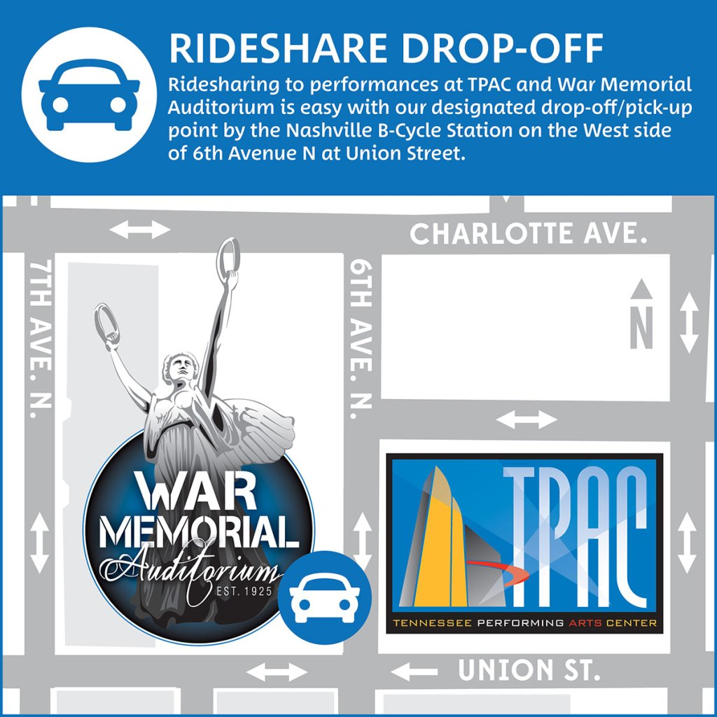 Directions Parking Tpac