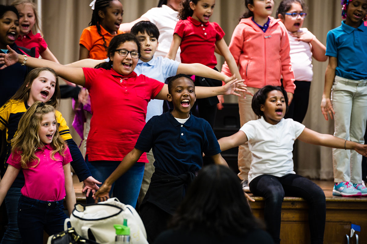 Rehearsals have begun for spring performances with Disney Musical in Schools.