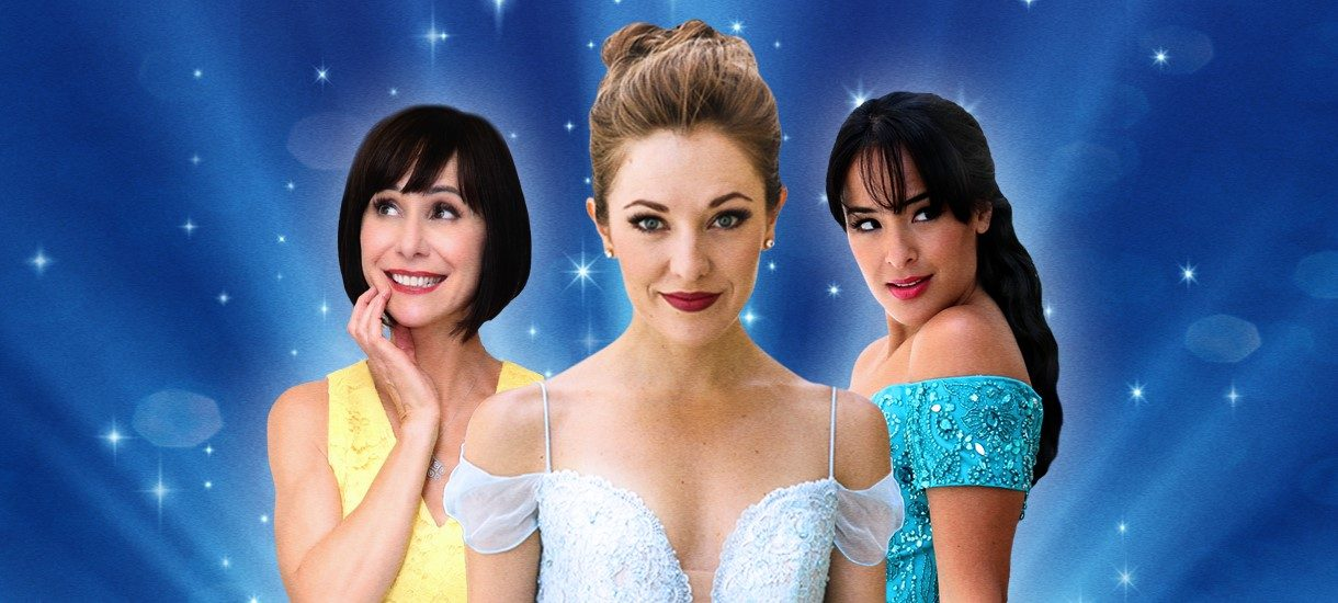 Susan Egan, Laura Osnes, Courtney Reed