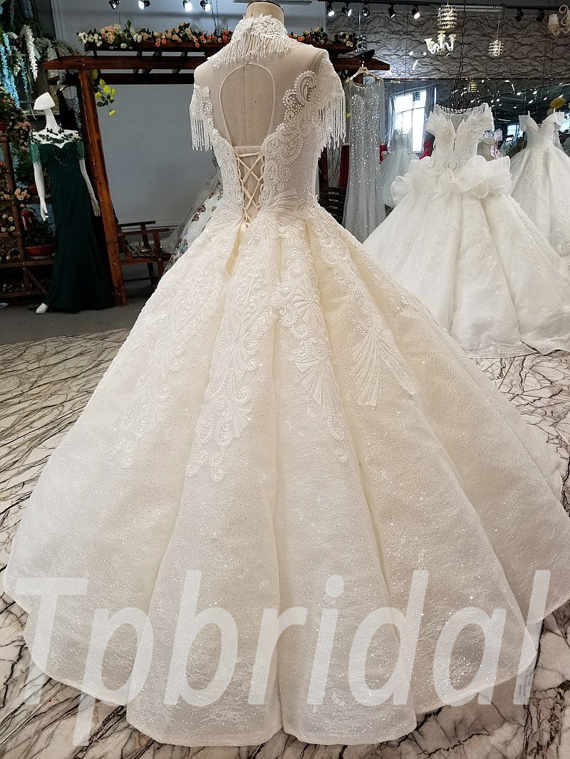 Ball Gowns For Wedding Crystal Princess Bridal Dress Online