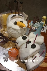 Olaf Cake: Custom Order Ask For a Quote Now
