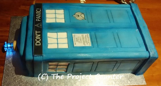 Tardis Cake: Custom Order Ask For a Quote Now