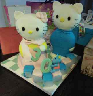Hello Kitty 3D Cake: Custom Order Ask For a Quote Now