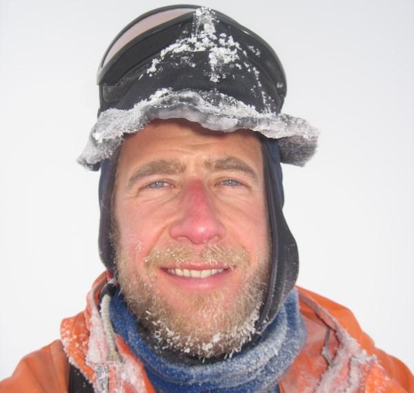 Antarctic guide Rob