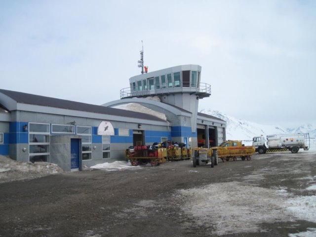 Kulusuk Terminal and Control Tower