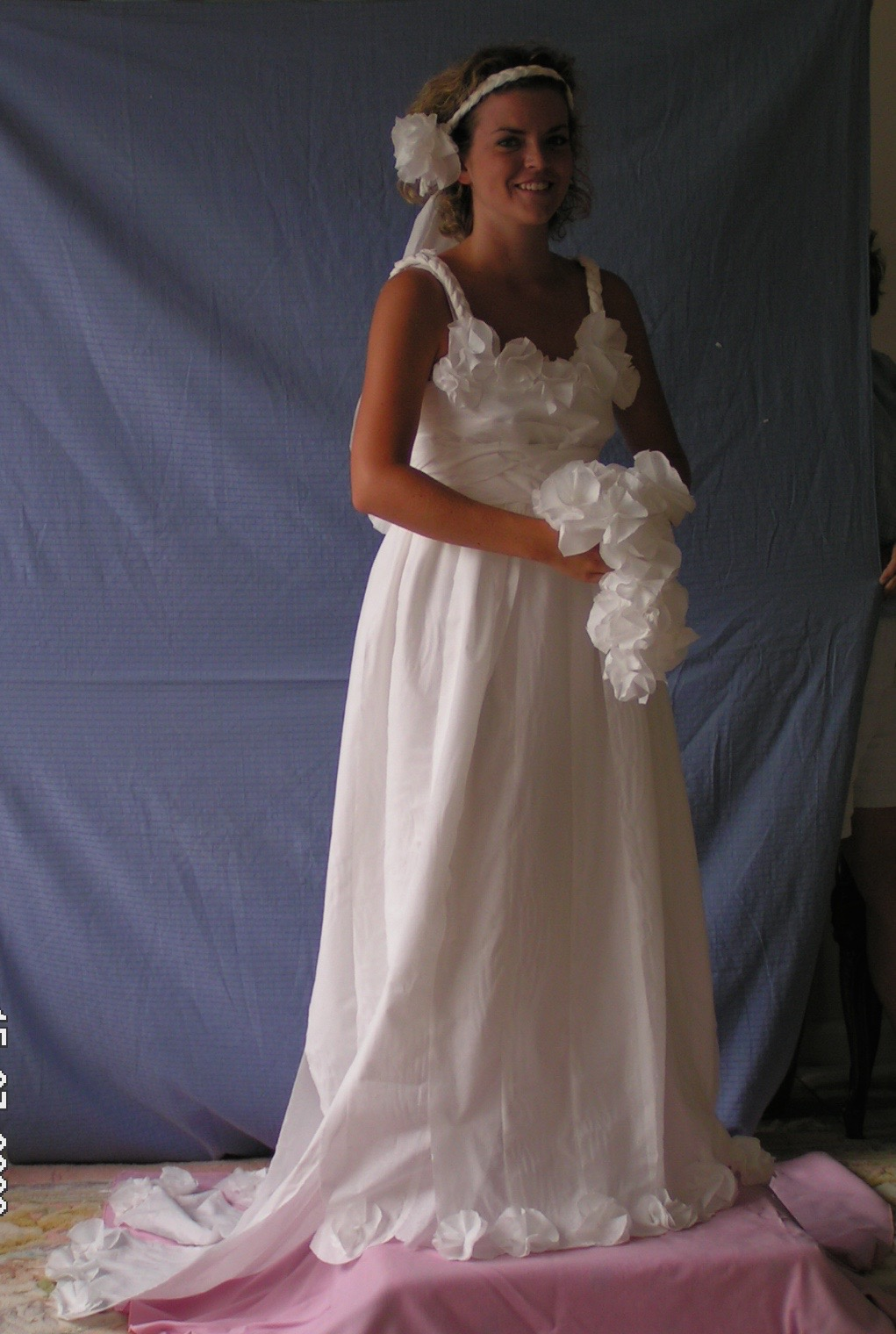 The 2006 Toilet Paper Wedding Dress Contest
