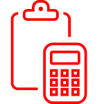 image of a calculator to represent accounting temp staffing