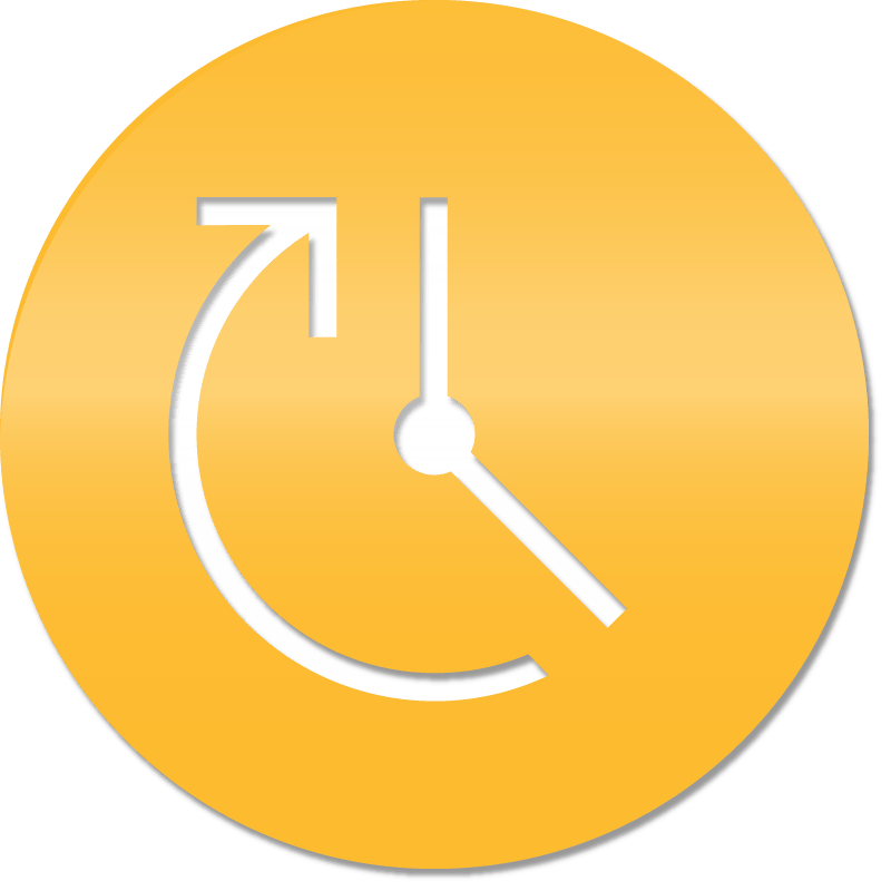 Vector image of a clock.