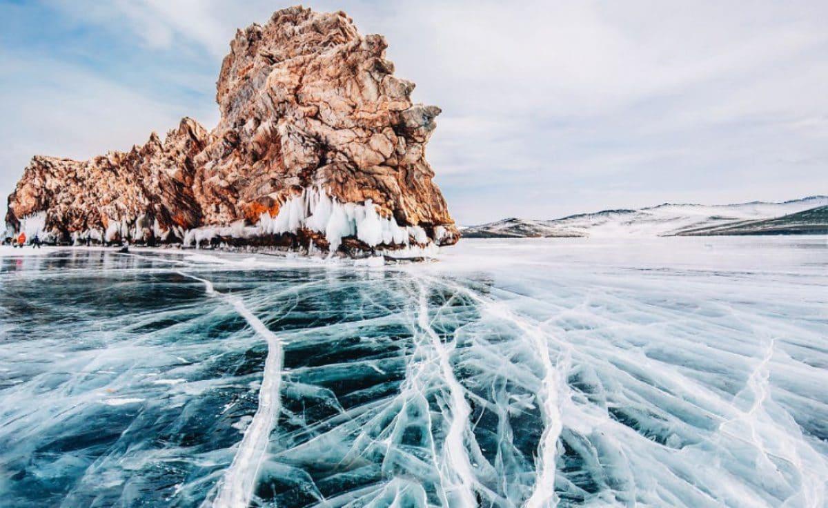 Le incredibili immagini del lago Bajkal il lago pi