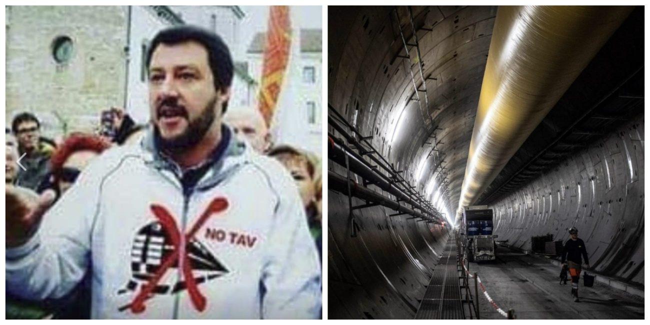 Salvini felpa No Tav  Matteo Salvini con la felpa No Tav ma  una bufala
