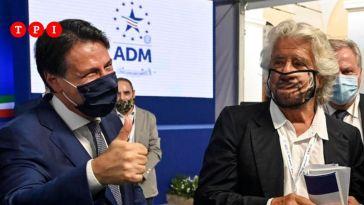 """M5s, accordo tra Beppe Grillo e Giuseppe Conte. L'ex premier: """"Soddisfatto, ora ci sono tutte le condizioni per ripartire"""""""