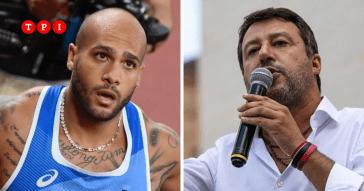 """Salvini difende Jacobs dai sospetti dei media stranieri: """"Squallidi, non sapete perdere"""""""