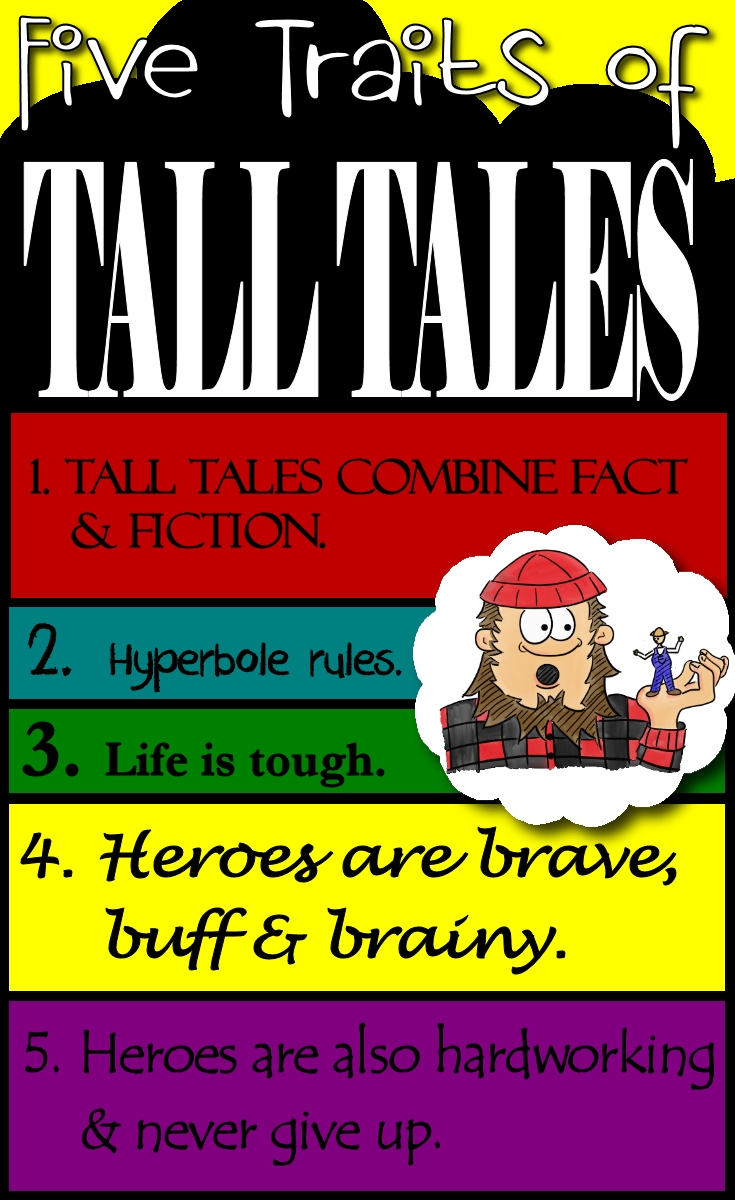 teaching how to write a tall tale
