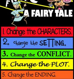 How to fracture a fairy tale-writing \u0026 teaching fractured fairy tales [ 1200 x 735 Pixel ]