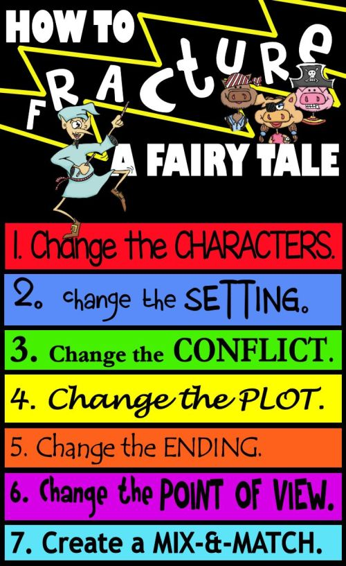 small resolution of How to fracture a fairy tale-writing \u0026 teaching fractured fairy tales